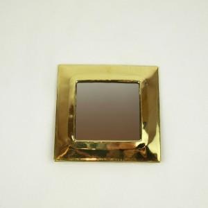 Mini miroir en laiton
